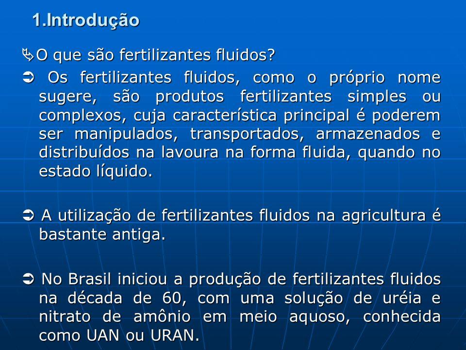 1.Introdução O que são fertilizantes fluidos