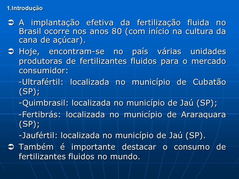 -Ultrafértil: localizada no município de Cubatão (SP);