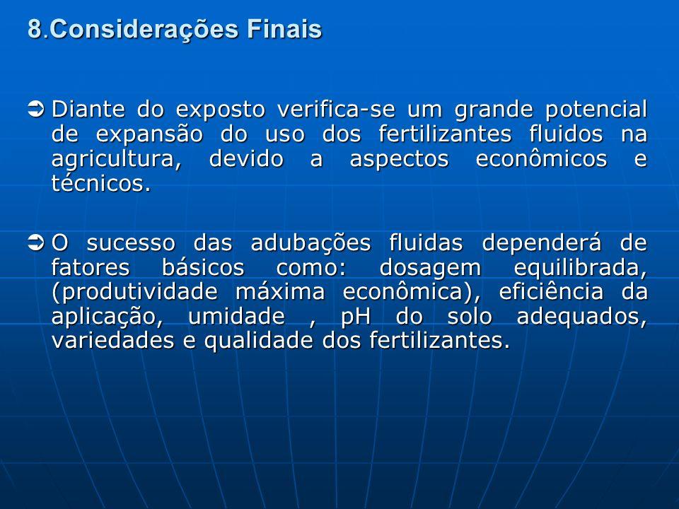 8.Considerações Finais