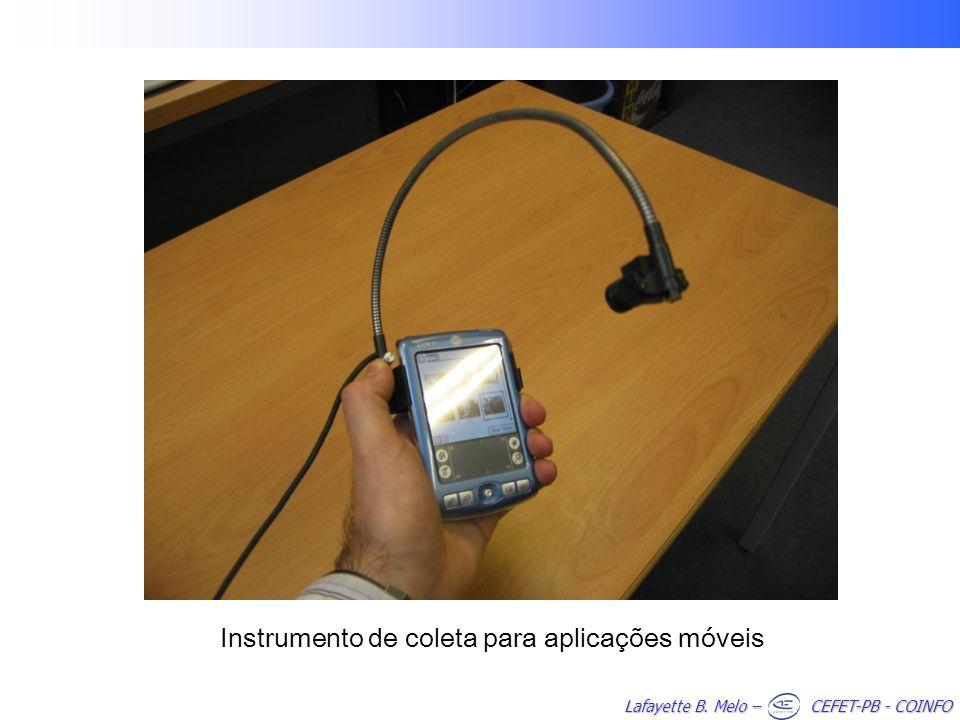 Instrumento de coleta para aplicações móveis