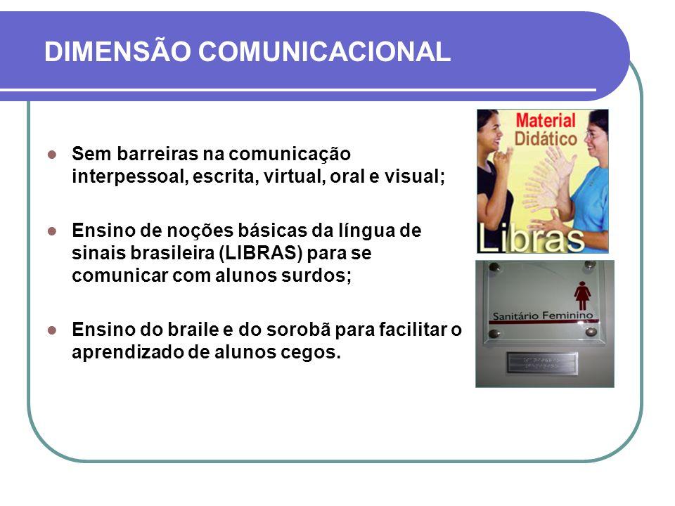 DIMENSÃO COMUNICACIONAL