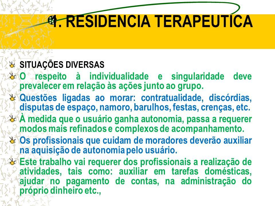 1. RESIDENCIA TERAPEUTICA