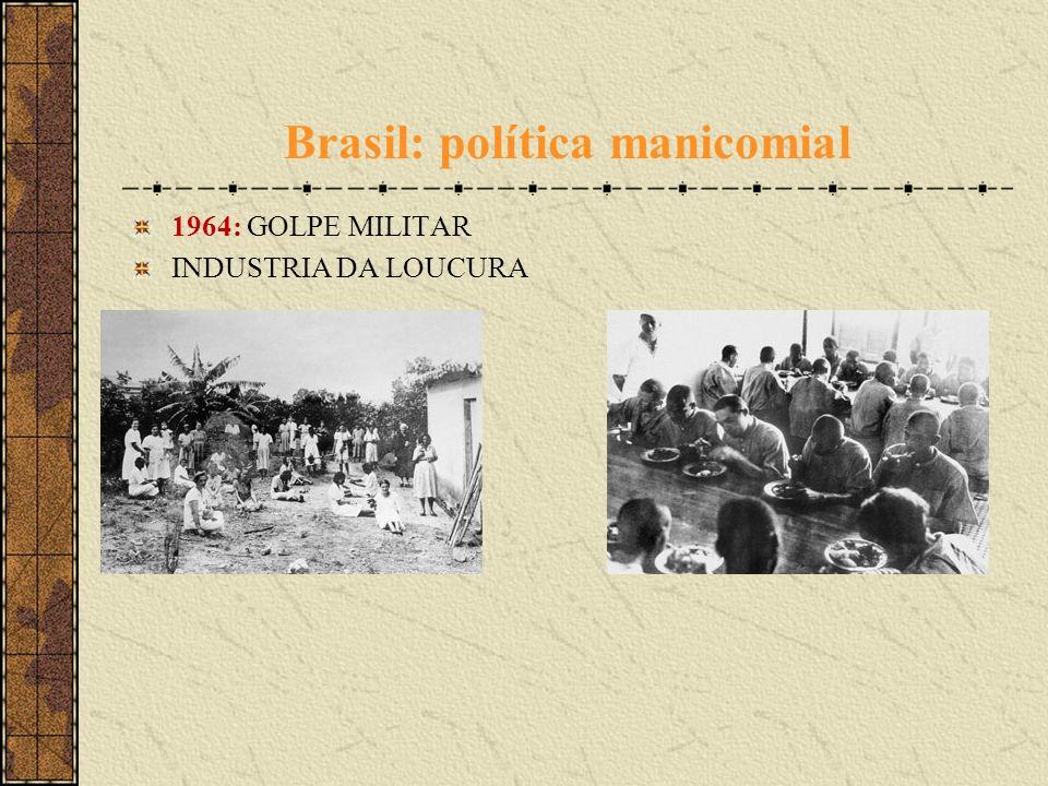 Brasil: política manicomial