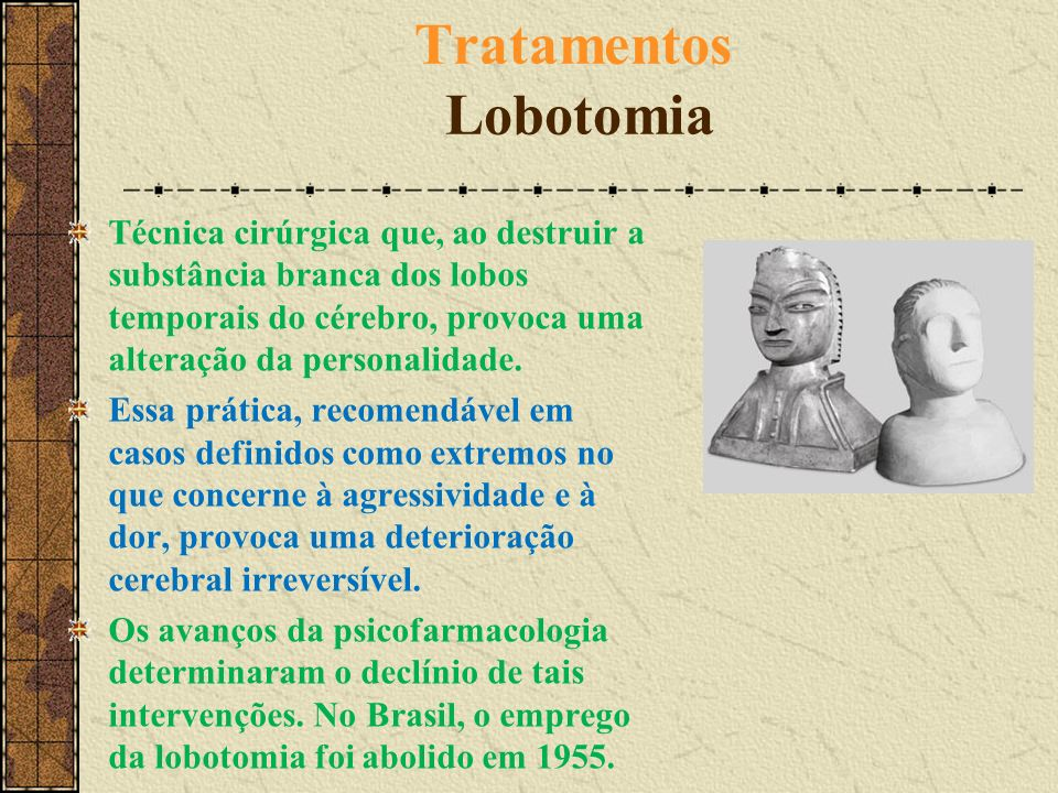 Tratamentos Lobotomia