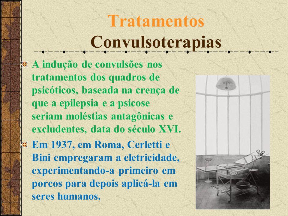 Tratamentos Convulsoterapias