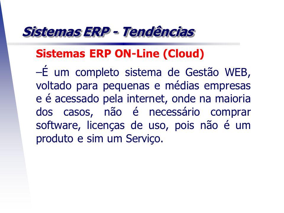 Sistemas ERP - Tendências