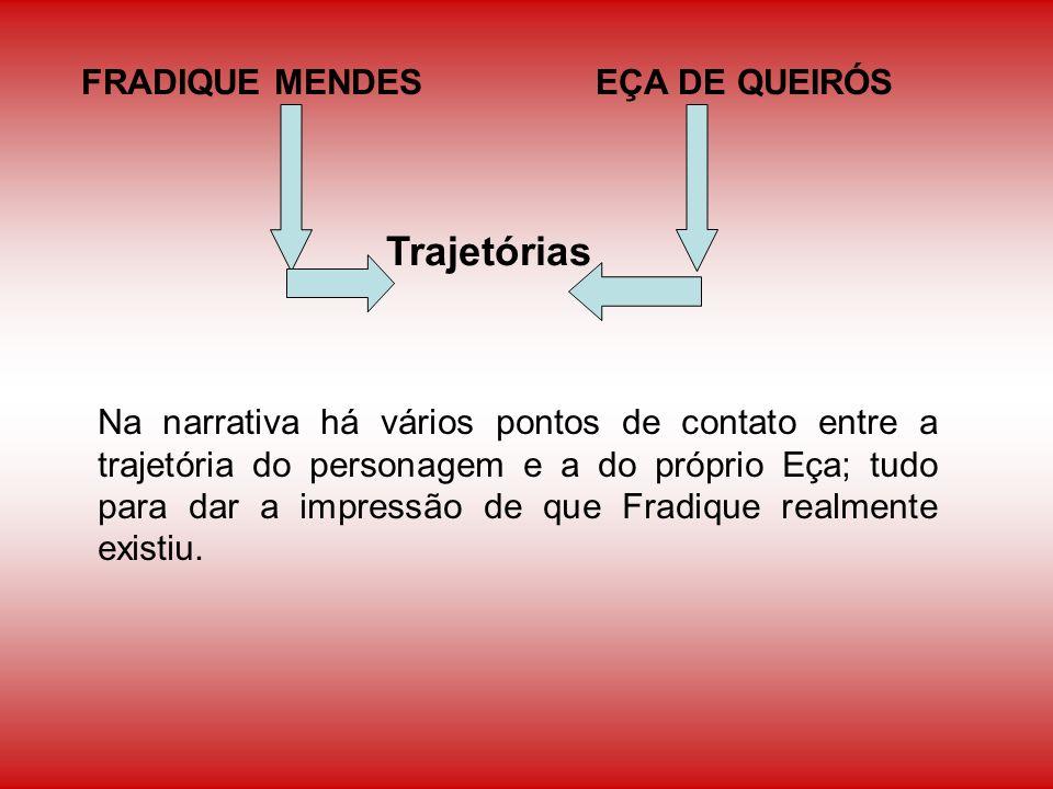 Trajetórias FRADIQUE MENDES EÇA DE QUEIRÓS