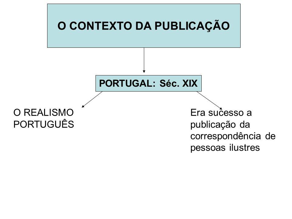 O CONTEXTO DA PUBLICAÇÃO