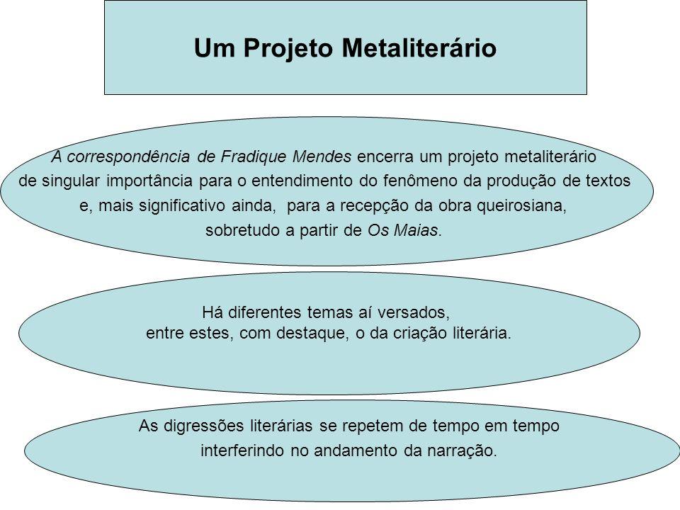 Um Projeto Metaliterário