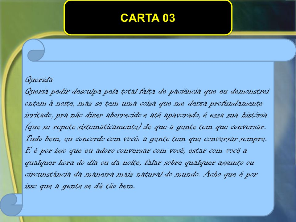 CARTA 03 Querida.