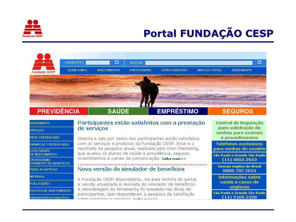 Portal FUNDAÇÃO CESP
