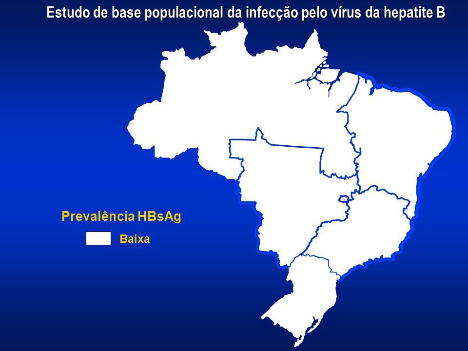 Estudo de base populacional da infecção pelo vírus da hepatite B