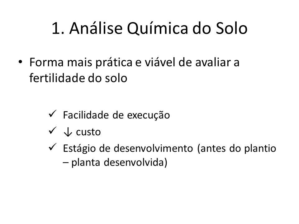 1. Análise Química do Solo