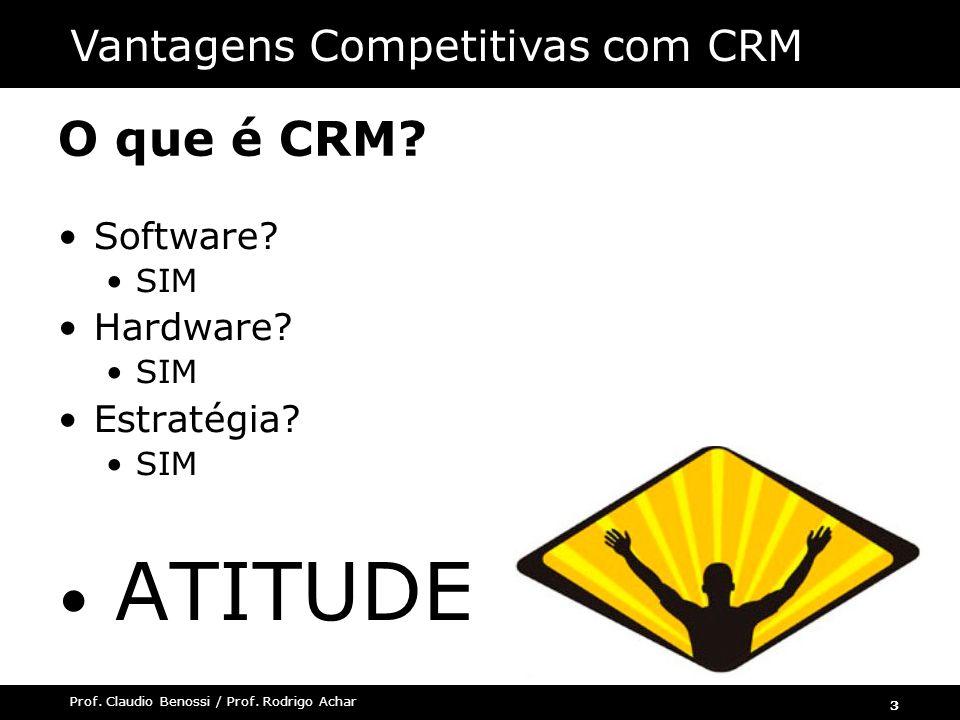 ATITUDE O que é CRM Vantagens Competitivas com CRM Software