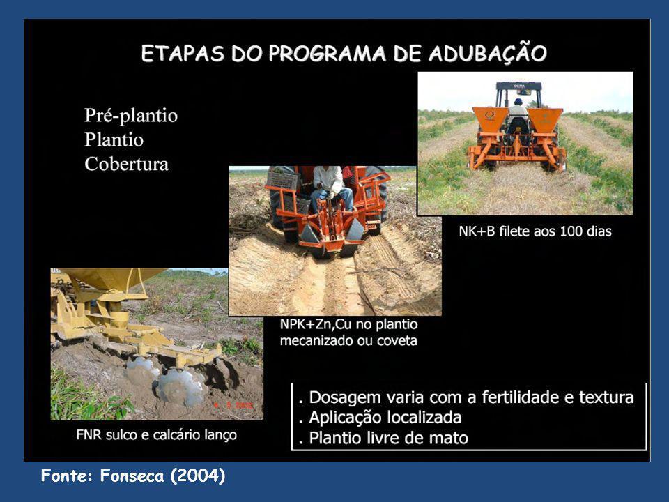 Fonte: Fonseca (2004)