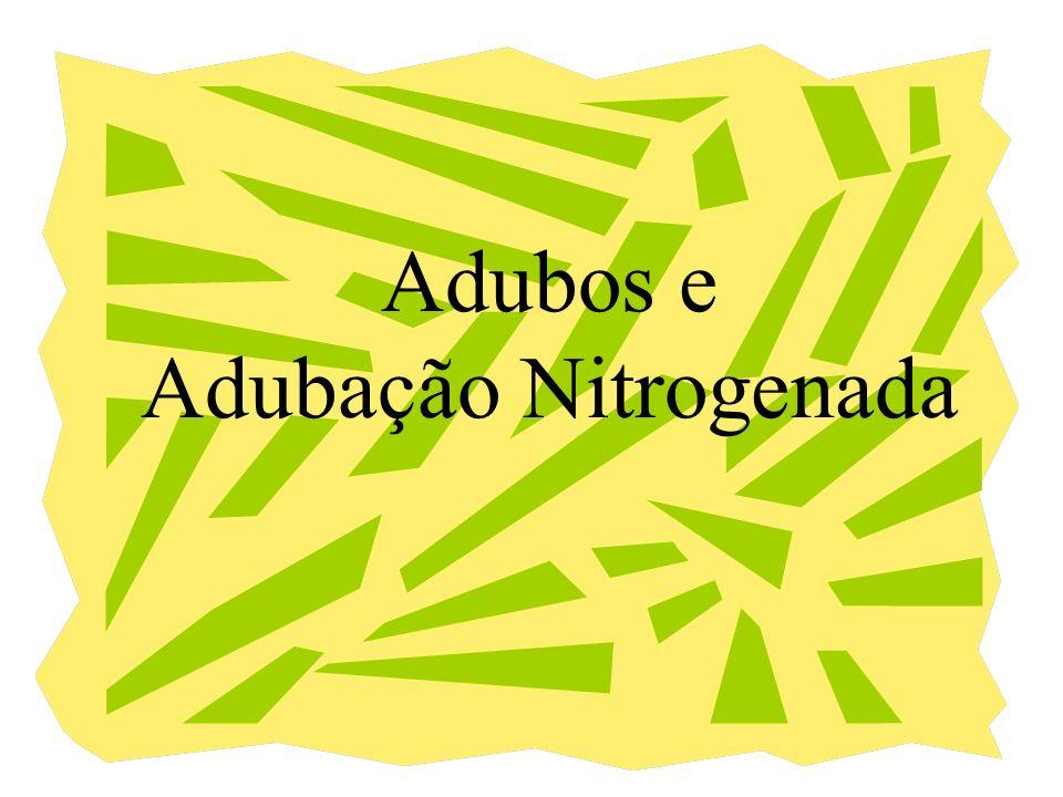 Adubos e Adubação Nitrogenada