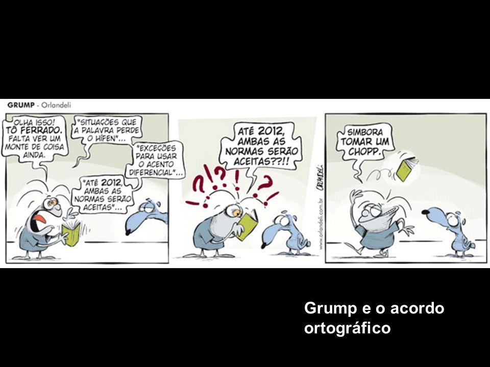 Grump e o acordo ortográfico