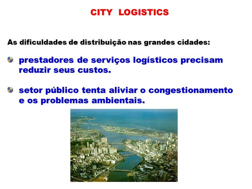 prestadores de serviços logísticos precisam reduzir seus custos.