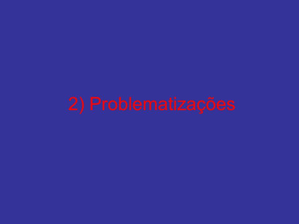 2) Problematizações