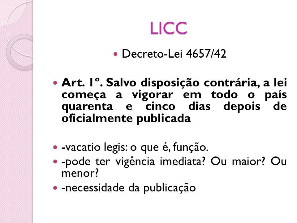 LICC Decreto-Lei 4657/42.