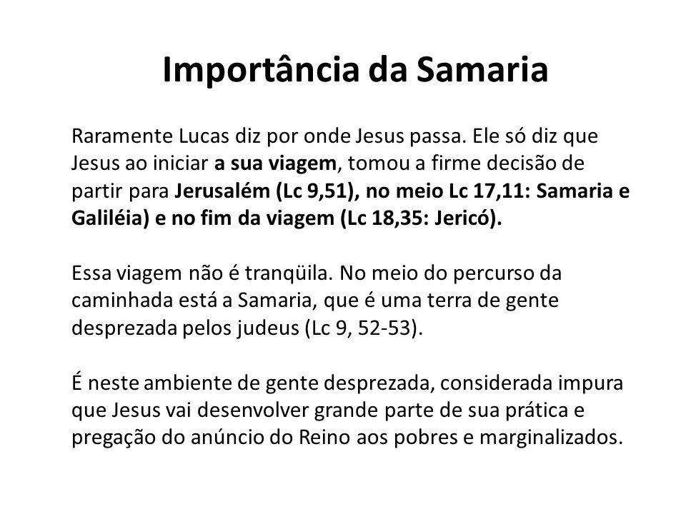 Importância da Samaria