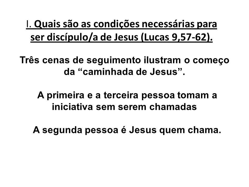 A segunda pessoa é Jesus quem chama.