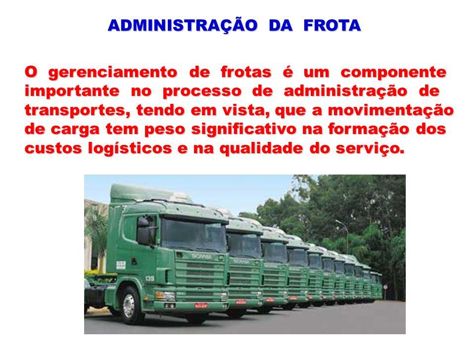 ADMINISTRAÇÃO DA FROTA