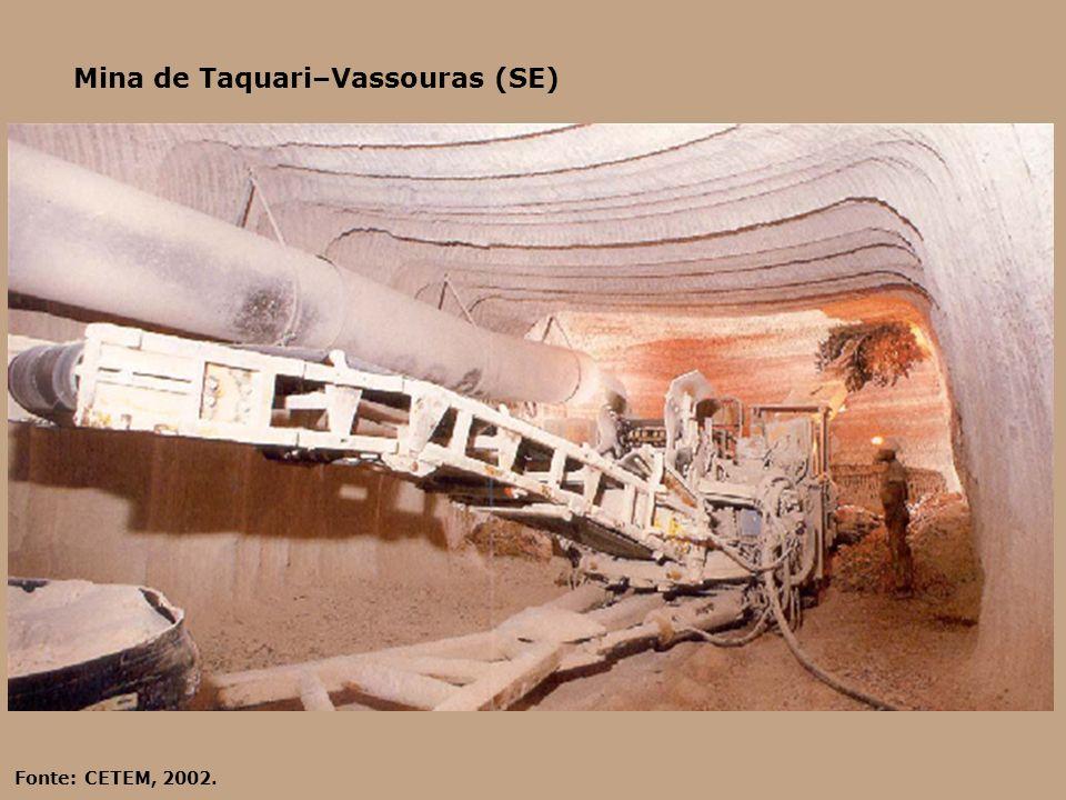 Mina de Taquari–Vassouras (SE)