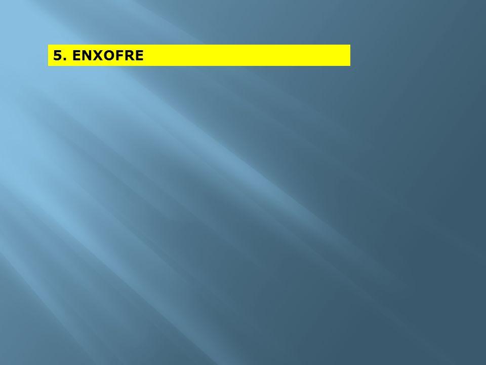 5. ENXOFRE