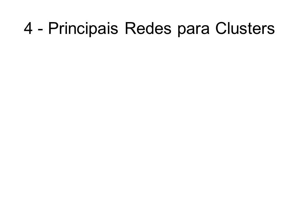 4 - Principais Redes para Clusters