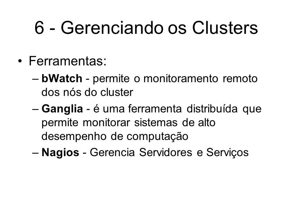 6 - Gerenciando os Clusters