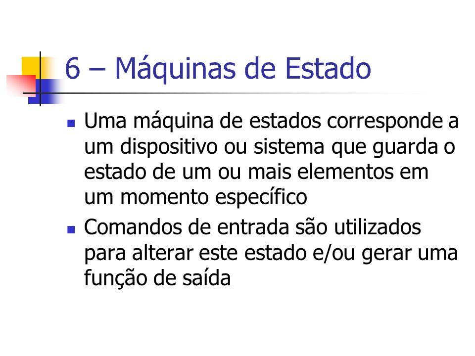 6 – Máquinas de Estado