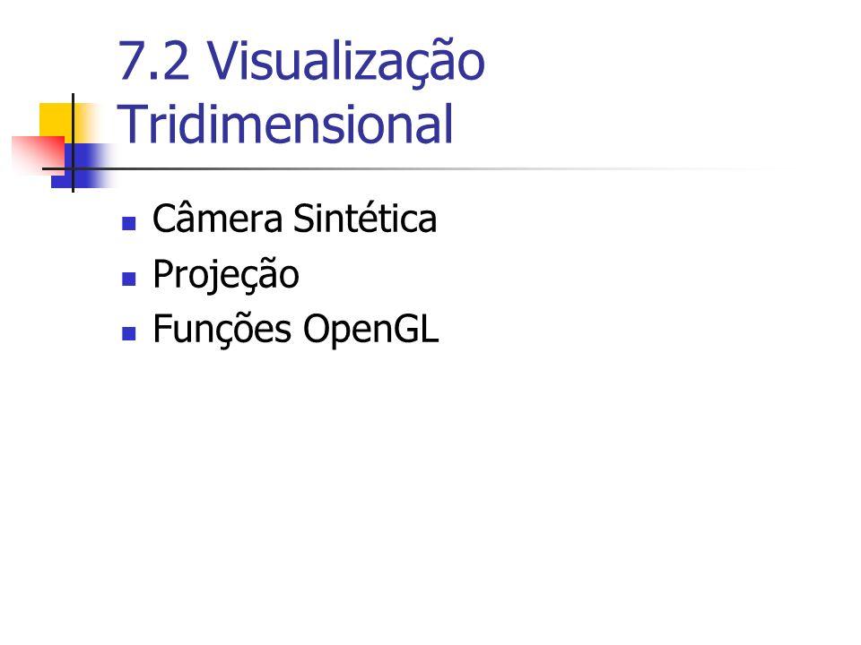 7.2 Visualização Tridimensional