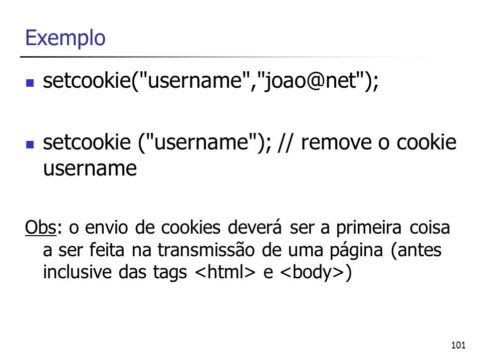 setcookie( username , joao@net );