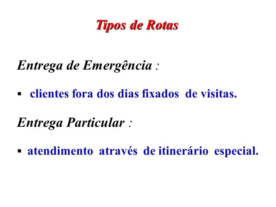 Entrega de Emergência :