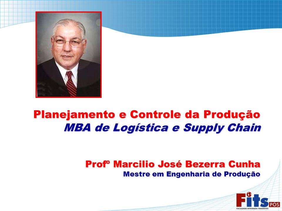 Planejamento e Controle da Produção MBA de Logística e Supply Chain