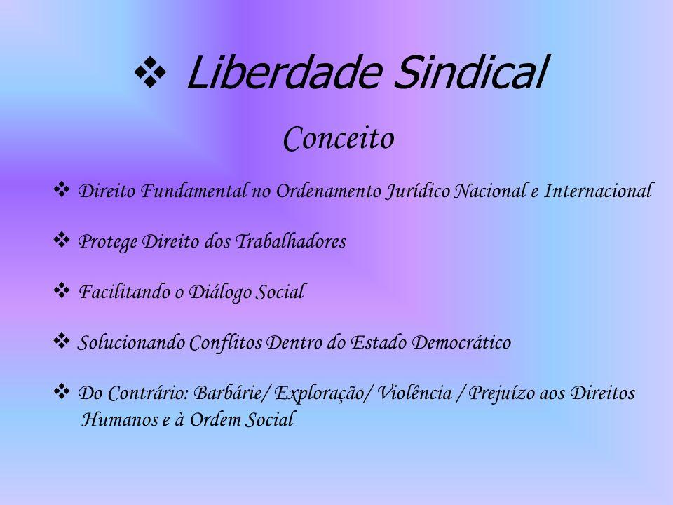 Liberdade Sindical Conceito