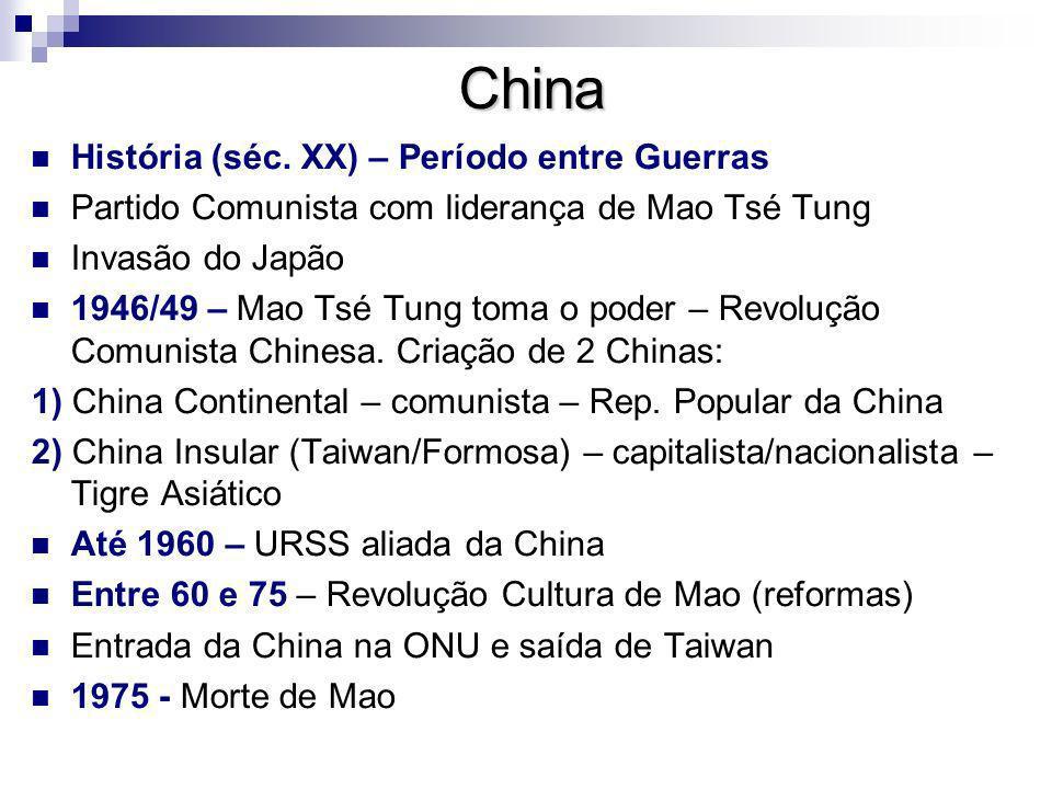 China História (séc. XX) – Período entre Guerras