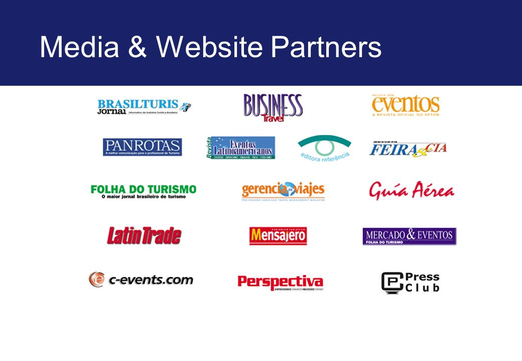 Media & Website Partners