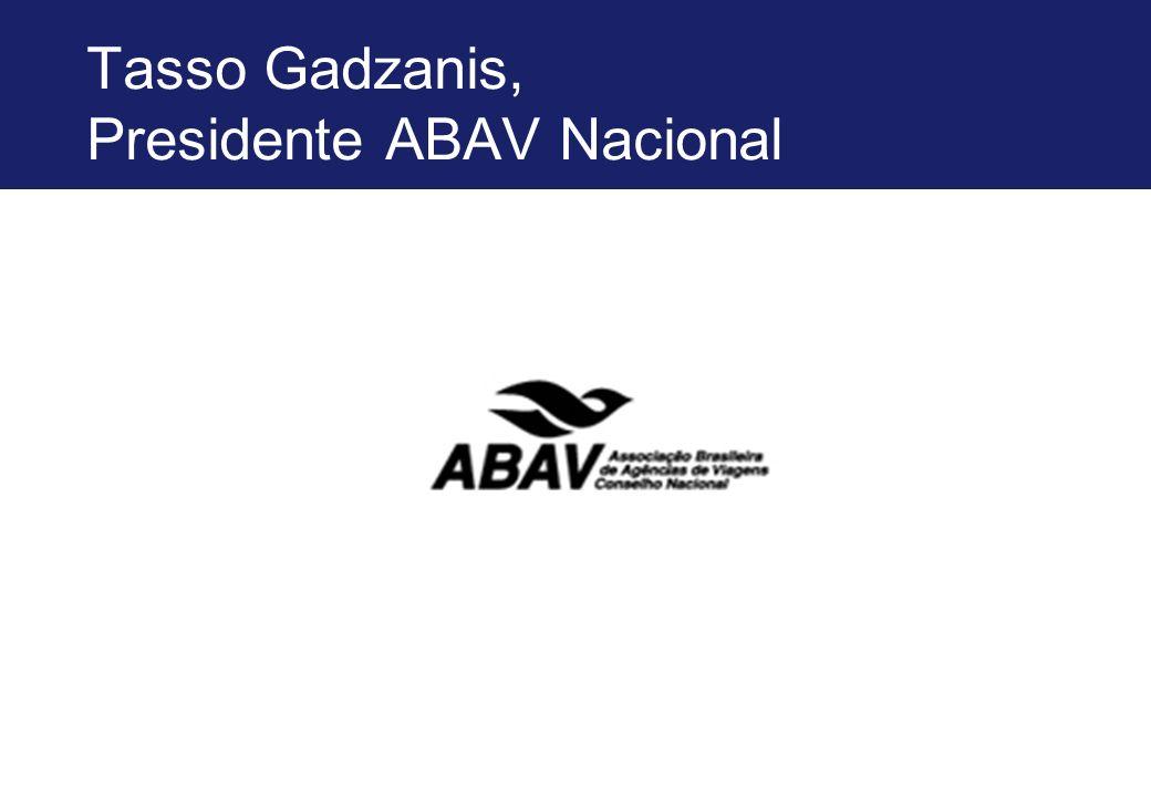 Tasso Gadzanis, Presidente ABAV Nacional