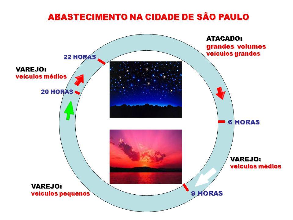 ABASTECIMENTO NA CIDADE DE SÃO PAULO