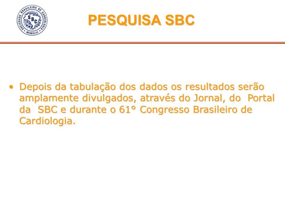 PESQUISA SBC
