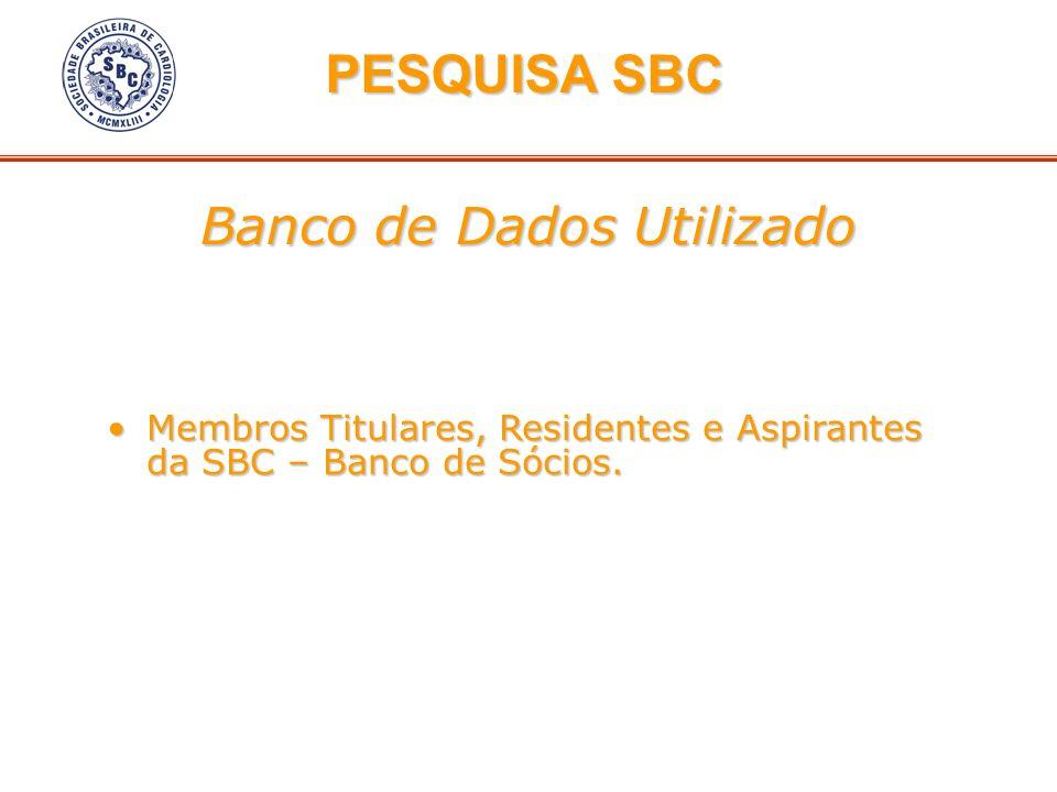 Banco de Dados Utilizado