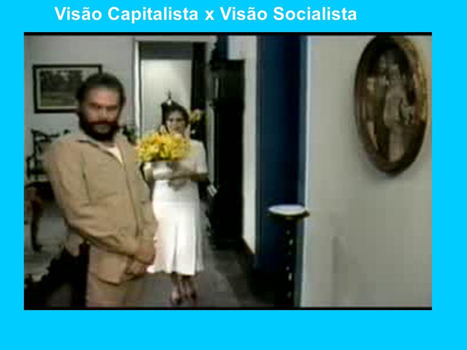 Visão Capitalista x Visão Socialista