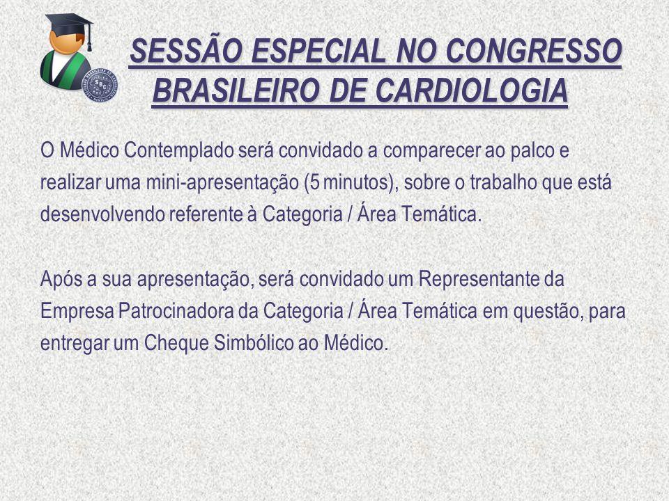 SESSÃO ESPECIAL NO CONGRESSO BRASILEIRO DE CARDIOLOGIA