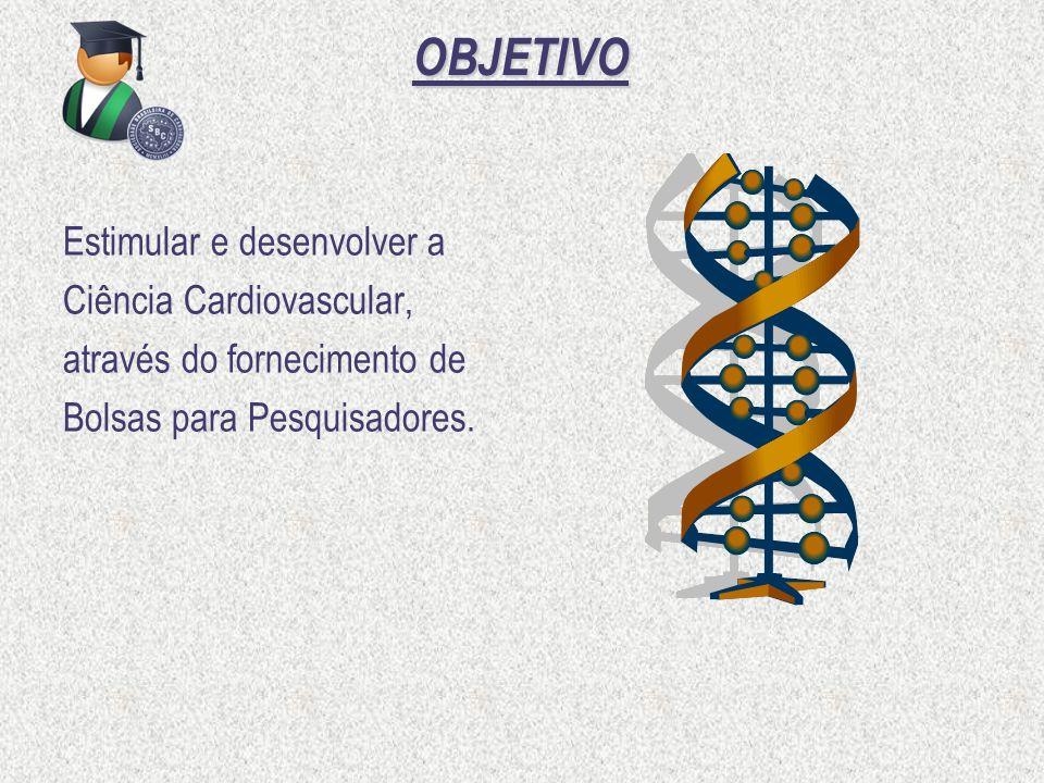 OBJETIVO Estimular e desenvolver a Ciência Cardiovascular,