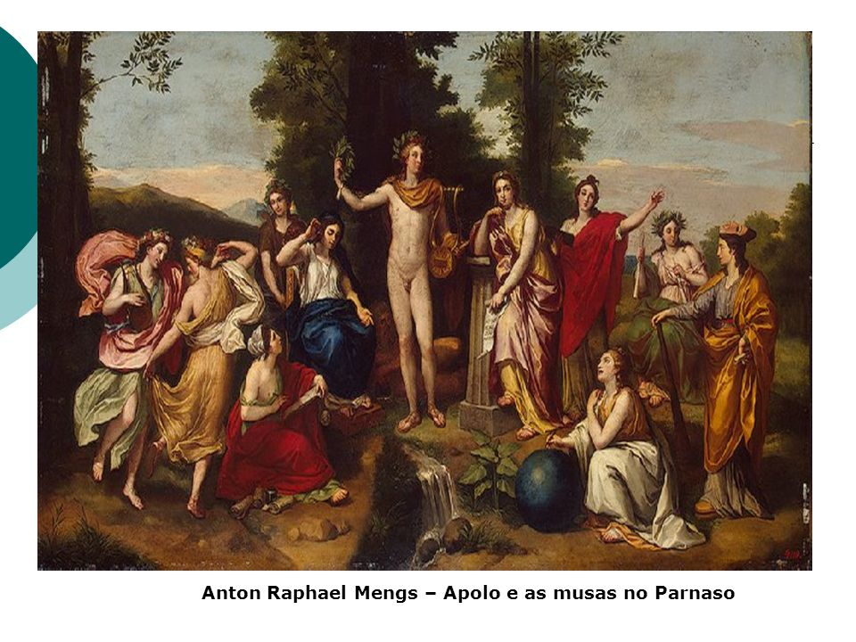 Anton Raphael Mengs – Apolo e as musas no Parnaso
