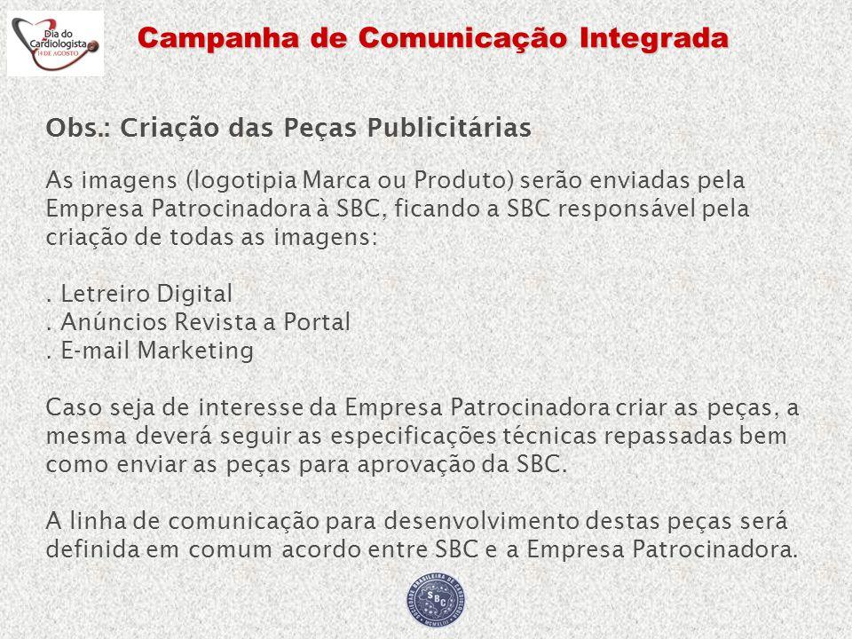 Campanha de Comunicação Integrada