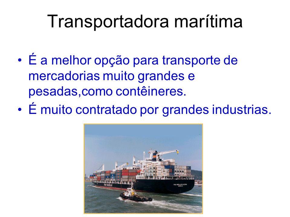 Transportadora marítima
