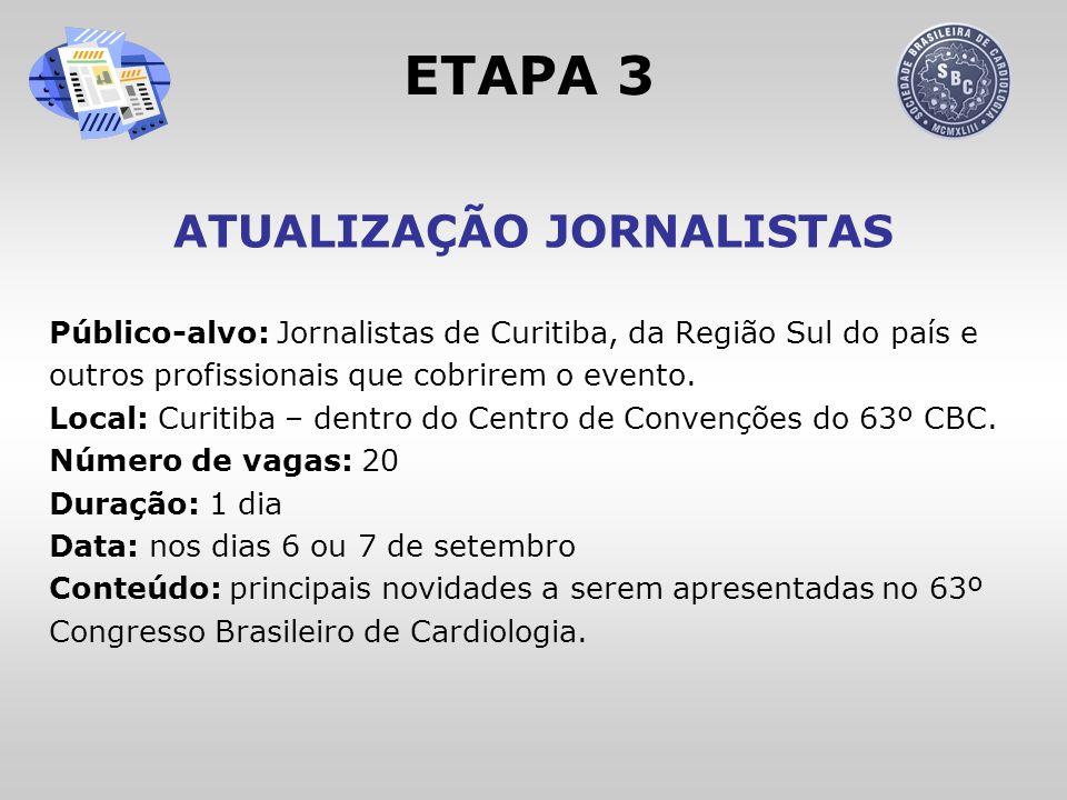 ATUALIZAÇÃO JORNALISTAS